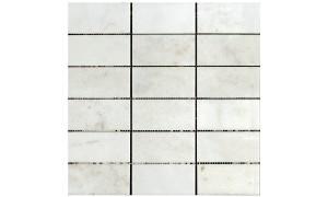 crema marfil polished mosaics