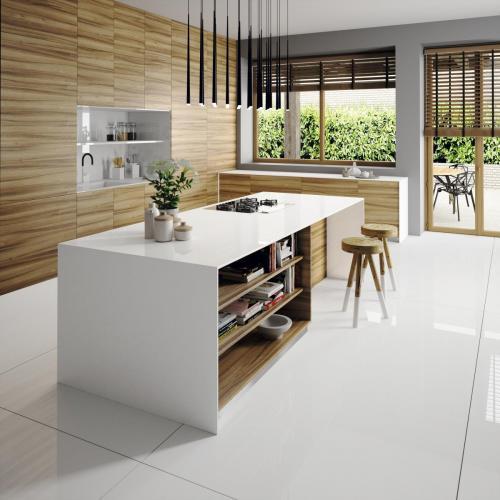 Silestone Kitchen - Iconic White