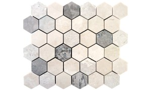 elegant mix hexagon